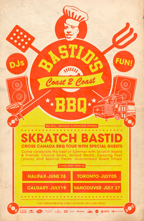 Skratch Bastid Brings Bastid's BBQ Across Canada