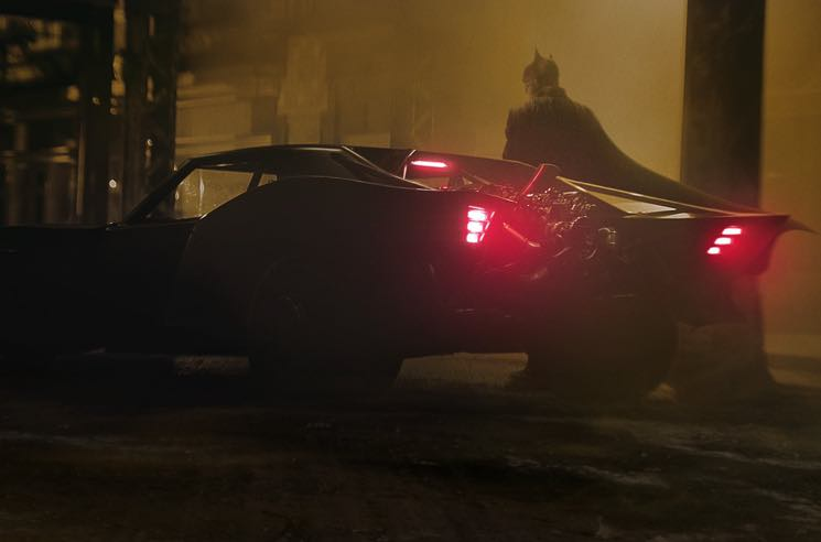Matt Reeves Shares Official Photos of the Batmobile from 'The Batman'