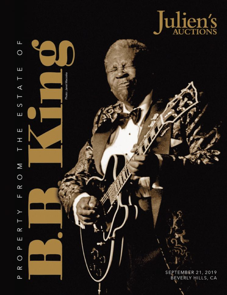 B.B. King's 'Lucille' Guitar to Be Sold at Auction