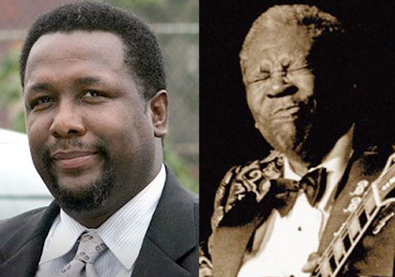 Wendell Pierce (a.k.a. Bunk from 'The Wire') Is Playing B.B. King in a Biopic
