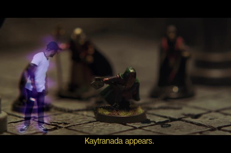 "​Watch BADBADNOTGOOD and Kaytranada Play 'Dungeons & Dragons' in ""Lavender"" Video"