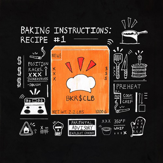 Raz Fresco's BKRSCLB Drops 'Baking Instructions: Recipe #1'