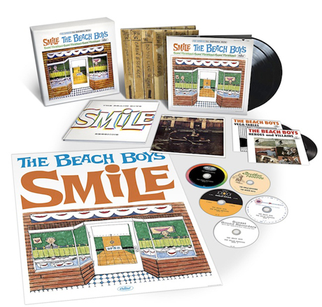 The Beach Boys Confirm Release Details of 'The SMiLE Sessions'