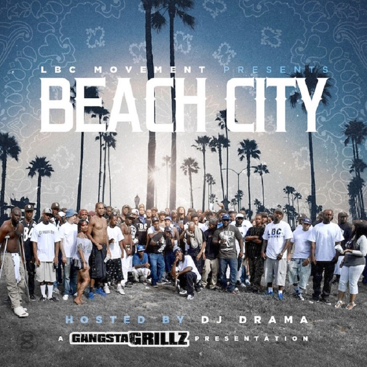 Various Artists 'Beach City' (mixtape ft. Snoop Dogg)