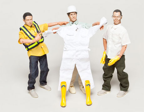 Beastie Boys Roll Out Their Own Action Figures