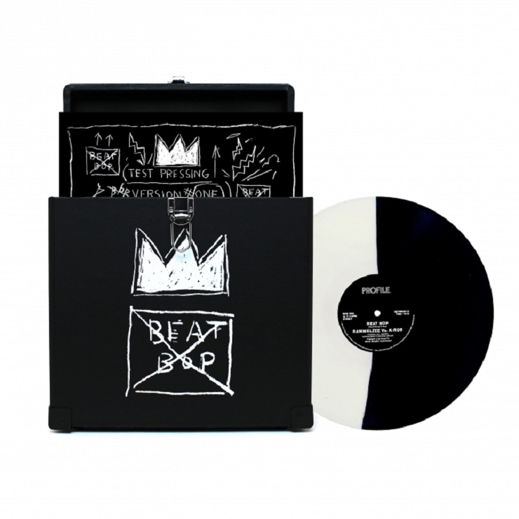 Get Your Very Own Basquiat Record Carrying Case