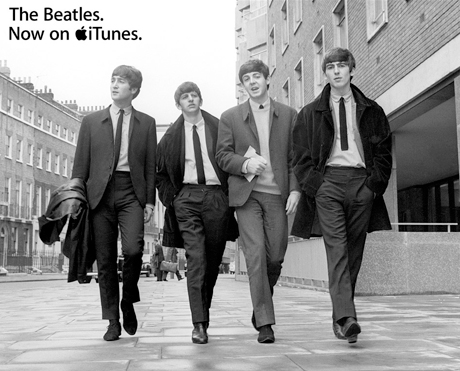 Beatles for Sale... On iTunes!