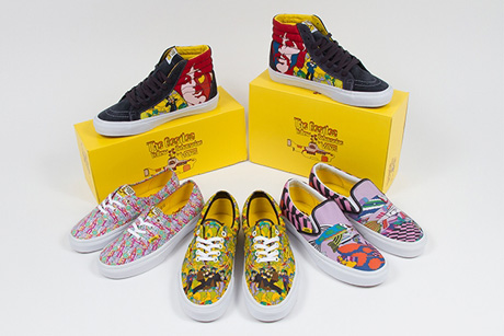 The Beatles' 'Yellow Submarine' Captured on New Vans Shoes