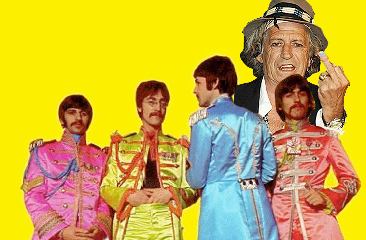 "Keith Richards Calls 'Sgt. Pepper's Lonely Hearts Club Band' ""Rubbish"""