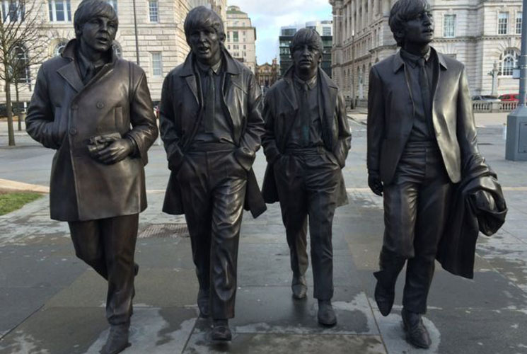 New Beatles Statue Unveiled in Liverpool