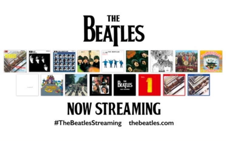 The Beatles Finally Make Their Music Available for Streaming