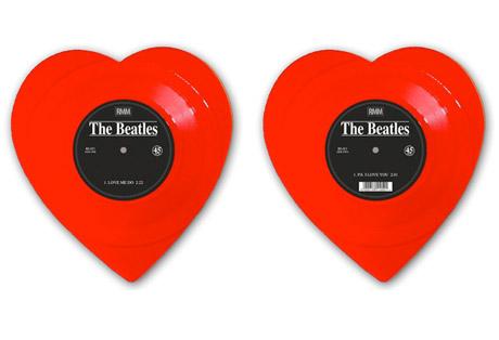 """The Beatles' """"Love Me Do"""" Reissued on Heart-Shaped Vinyl"""