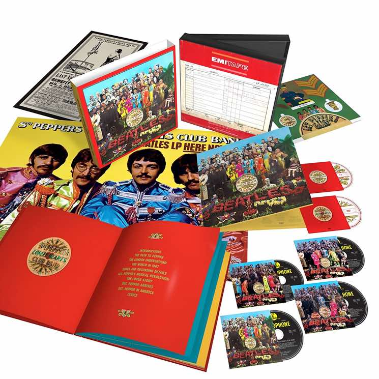 The Beatles' 'Sgt. Pepper's Lonely Hearts Club Band' Treated to 50th Anniversary Box Set