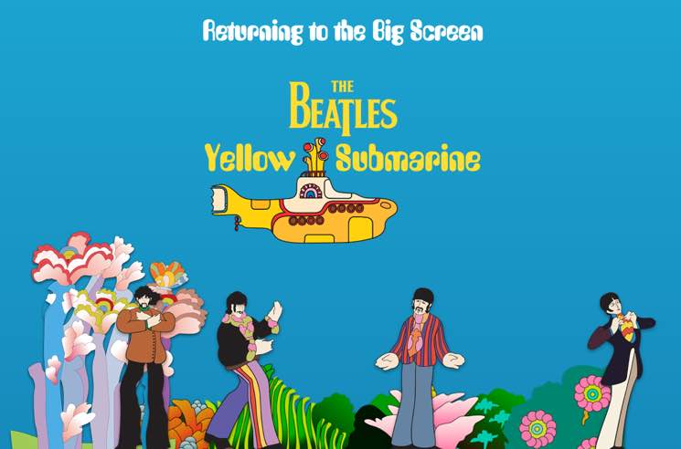 The Beatles' 'Yellow Submarine' Film Will Return to Theatres for 50th Anniversary