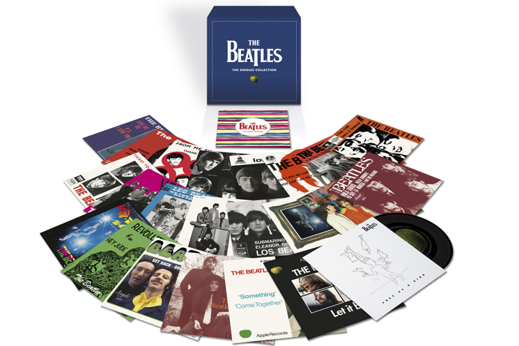 The Beatles Unveil Singles Box Set