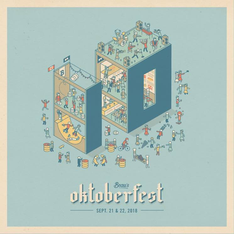 ​Beau's Oktoberfest 2018 Gets Sloan, Joel Plaskett Emergency, Cancer Bats