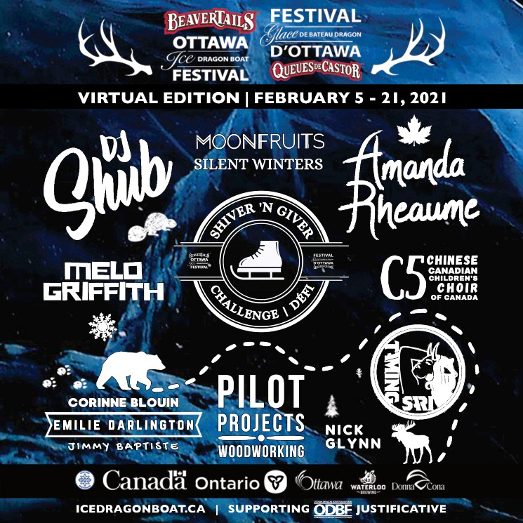 BeaverTails Ottawa Ice Dragon Boat Festival get DJ Shub, Amanda Rheaume and More for Virtual Edition