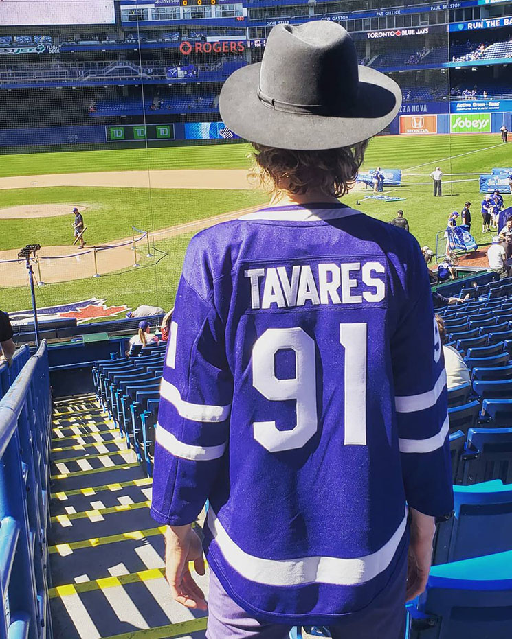 Beck Is Pretty Excited About the Toronto Blue Jays and John Tavares