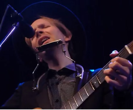 Beck 'Song Reader' (ft.  Jarvis Cocker, Franz Ferdinand, Beth Orton)  (live videos)
