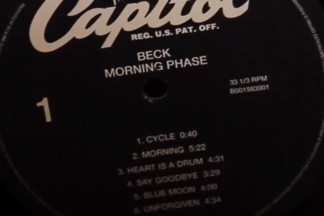 "Beck ""Blue Moon"" ('Morning Phase' trailer)"
