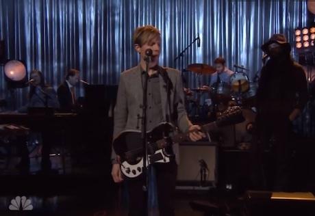 "Beck ""Walking Light"" / ""Say Goodbye"" (live on 'Fallon')"