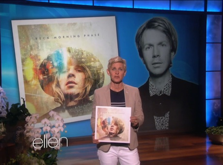 Beck 'Blue Moon' (live on 'Ellen')