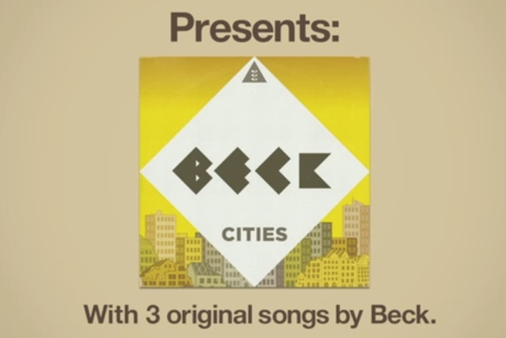 Beck 'Sound Shapes' trailer