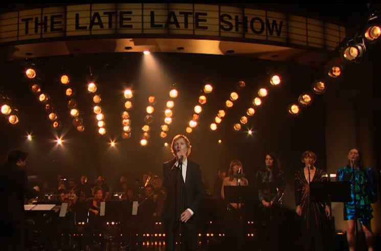 "​Watch Beck, Feist and Bat for Lashes Perform ""Tarantula"" with the L.A. Philharmonic on 'Corden'"