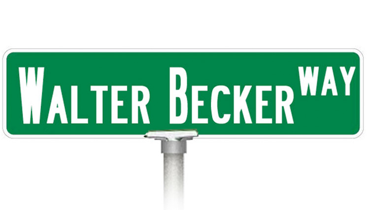 Steely Dan's Walter Becker Gets Street Named in His Honour