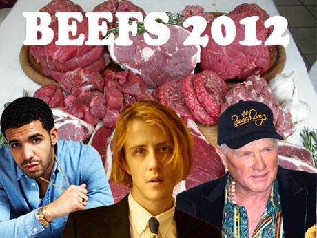 2012 in Beefs