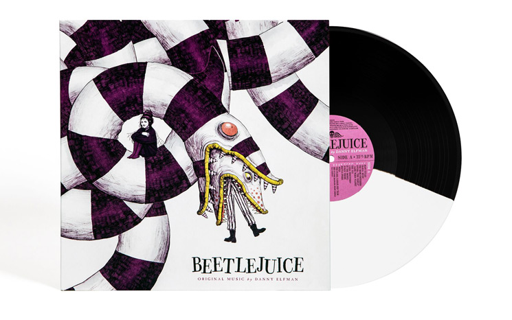 Tim Burton's 'Beetlejuice' Soundtrack Gets 30th Anniversary Vinyl Reissue