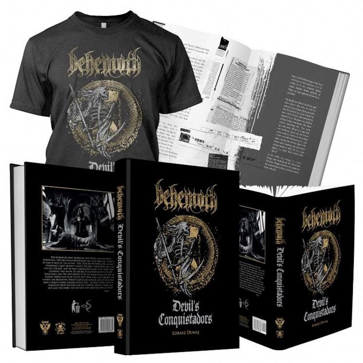 Behemoth Document Their History with 'Devil's Conquistadors' Biography