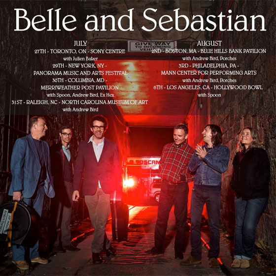 Belle and Sebastian Hit Toronto on North American Tour