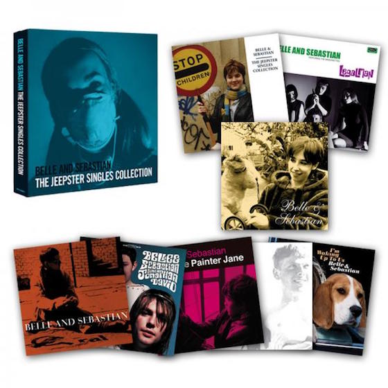 Belle and Sebastian Collect Their Jeepster Singles in New Vinyl Box Set