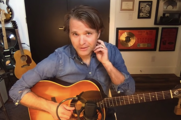 Watch Ben Gibbard Perform a Postal Service Song for the Actual Postal Service