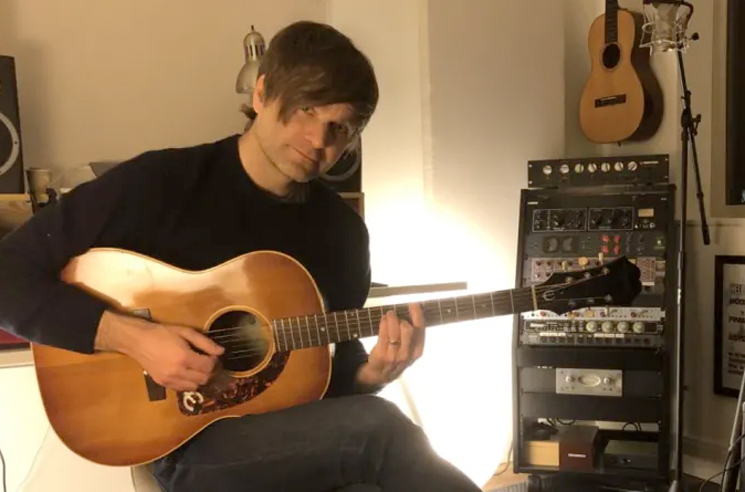 "Ben Gibbard Covered Radiohead's ""Fake Plastic Trees"" During His Livestream"
