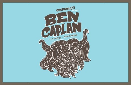 Ben Caplan Launches Ontario Residency