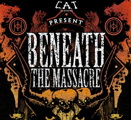 Beneath the Massacre Announce North American Tour with Rings of Saturn, Legion and Rivers of Nihil