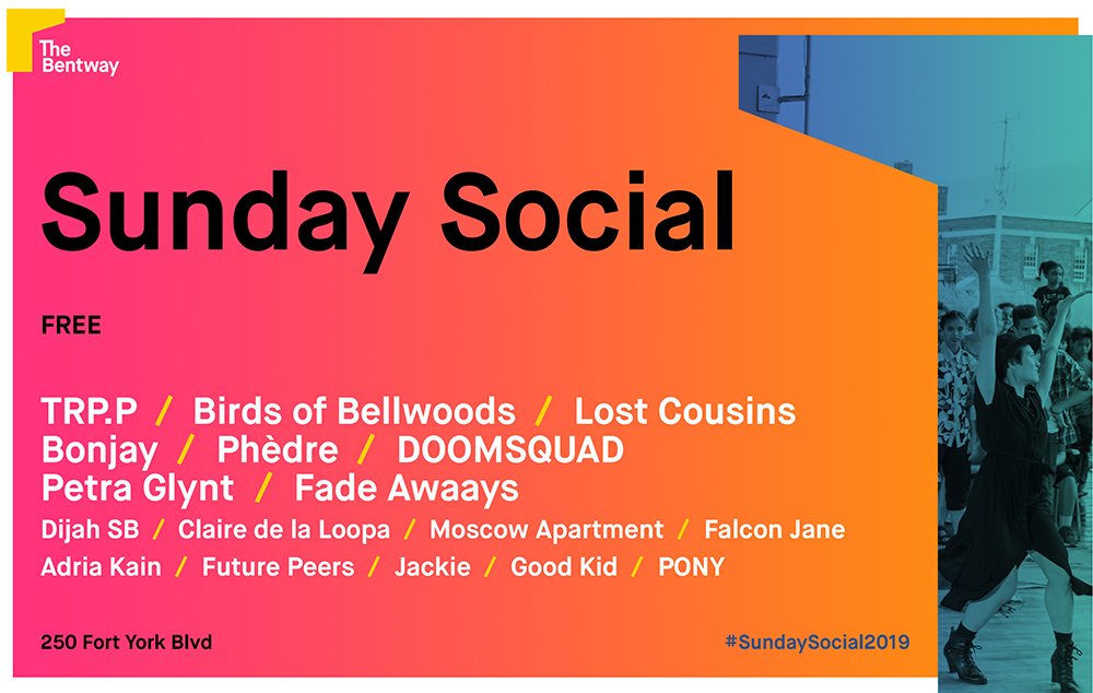 Fade Awaays, Doomsquad and Phèdre Join Exclaim! Stage Lineup at Toronto's Bentway Sunday Socials