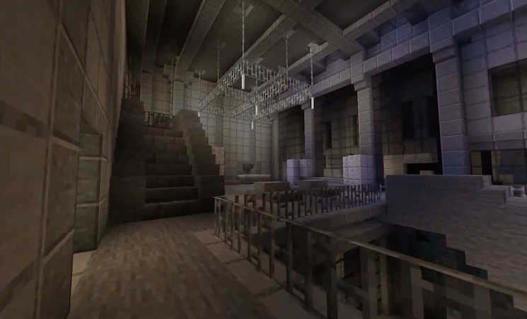 Someone Made a 'Minecraft' Version of Berghain