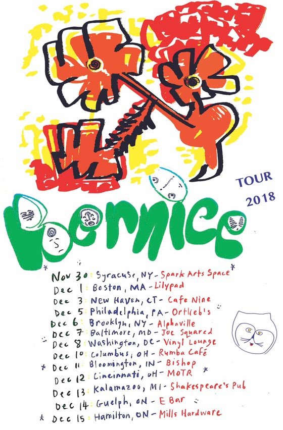 Bernice Map Out North American Tour, Share New Video