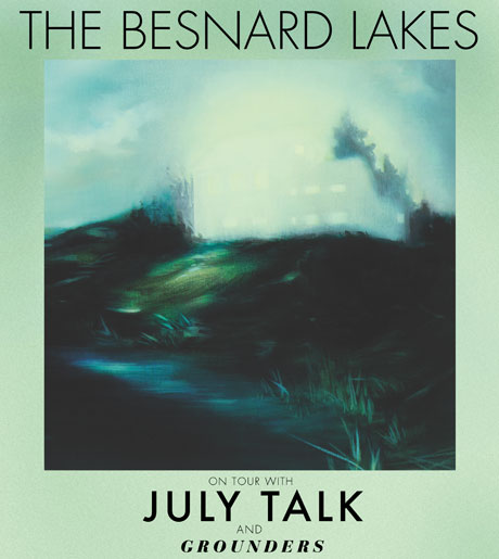 The Besnard Lakes Team Up with July Talk and Grounders for Canada-Heavy Tour