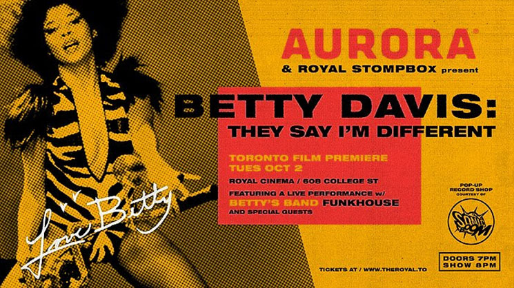 Funk Icon Betty Davis Celebrated with Documentary Screening in Toronto