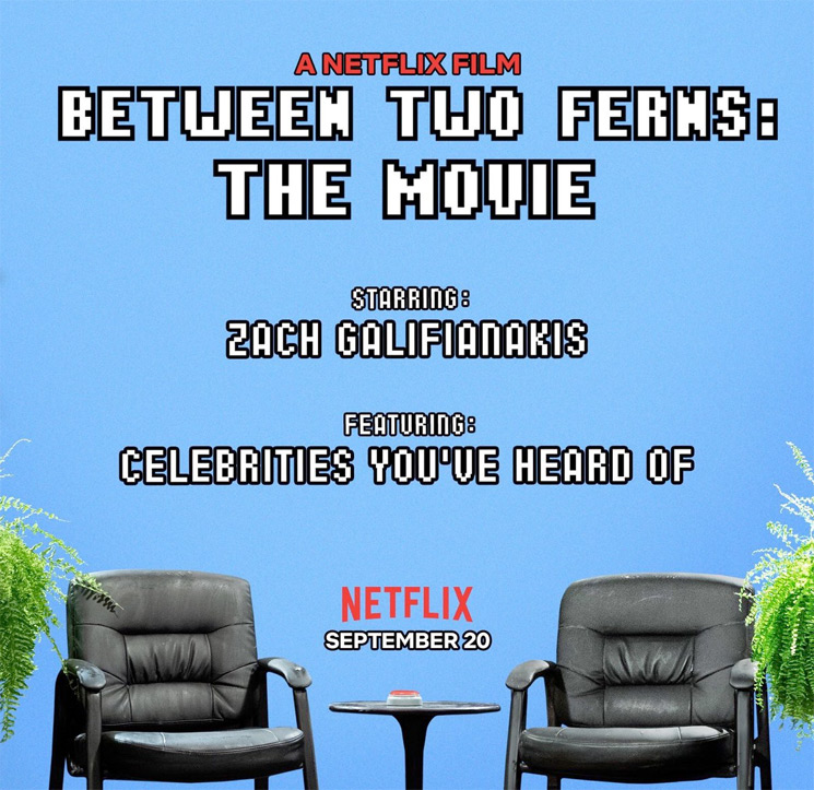 Zach Galifianakis' 'Between Two Ferns' Movie Is Officially Coming to Netflix