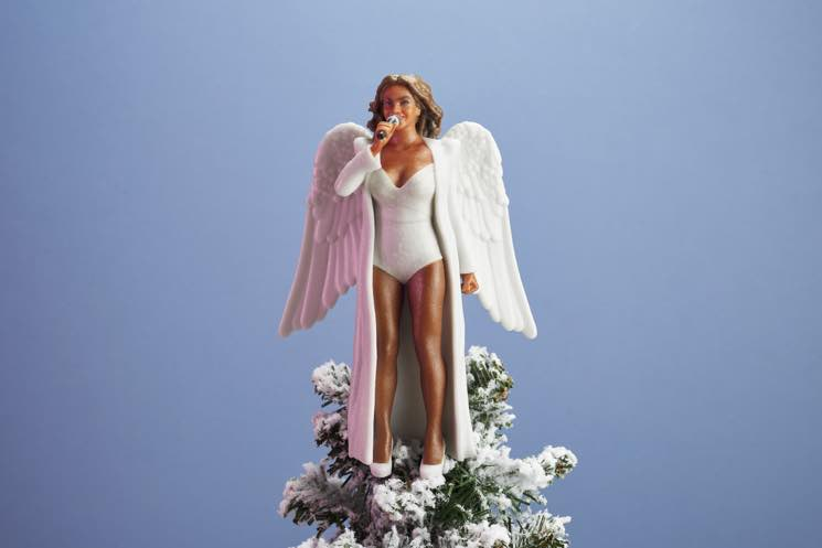 ​Beyoncé Has Been Turned into a 3D-Printed Christmas Tree Topper