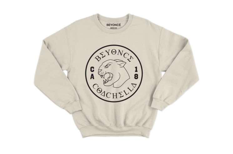 "Beyoncé Unveils Line of ""Beychella"" Merch"