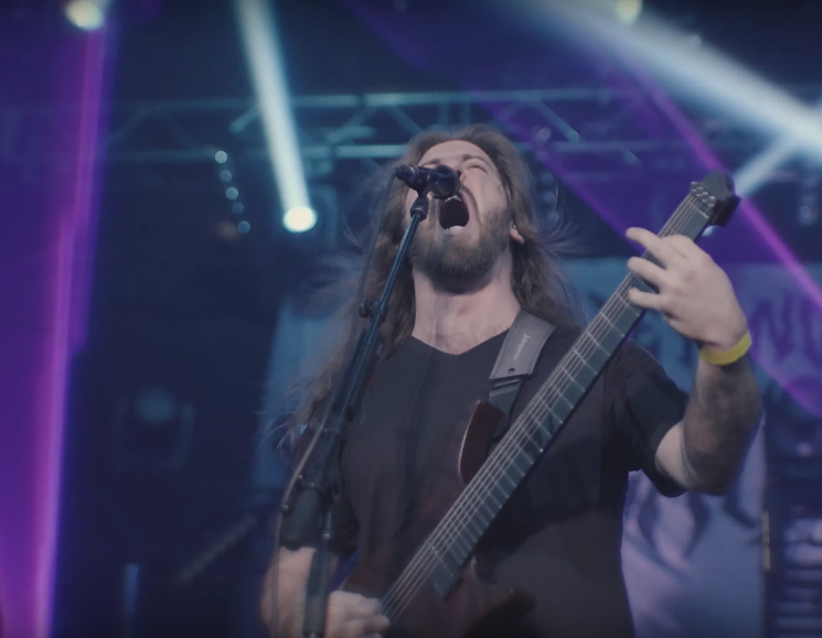Watch Beyond Creation Shred Through 'The Afterlife' at Their 'Algorythm' Montreal Release Show