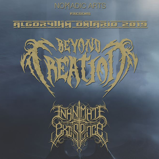Montreal's Beyond Creation Announce Ontario Tour