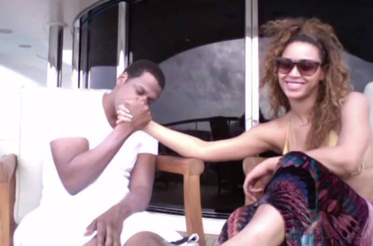 "​Beyoncé and Jay Z Celebrate Anniversary in New ""Die with You"" Video"