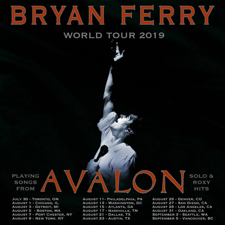 Bryan Ferry Takes Roxy Music's 'Avalon' on North American Tour
